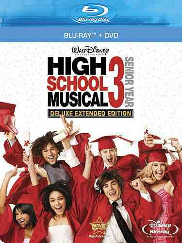 HIGH SCHOOL MUSICAL 3:SENIOR YEAR BY EFRON,ZAC (Blu-Ray)